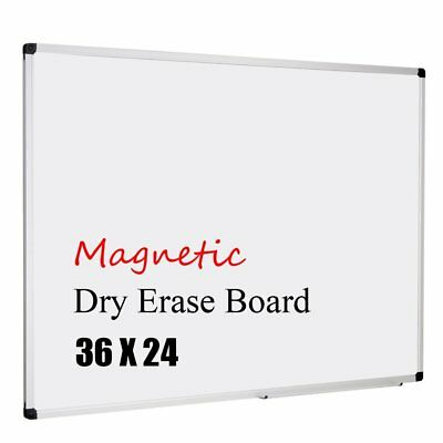 XBoard Magnetic 36x24-Inch  Dry Erase Aluminum Framed Whiteboard with Detachable