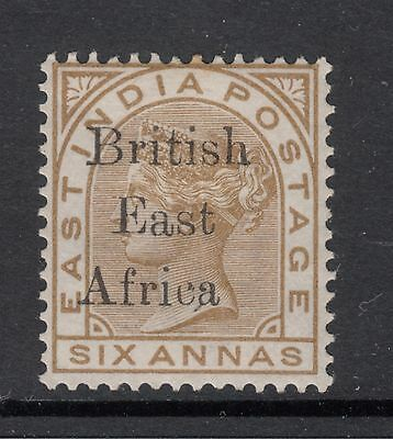 BRITISH EAST AFRICA SG 56 6a Queen Victoria (tone on 1 perf) MINT LIGHT HINGED