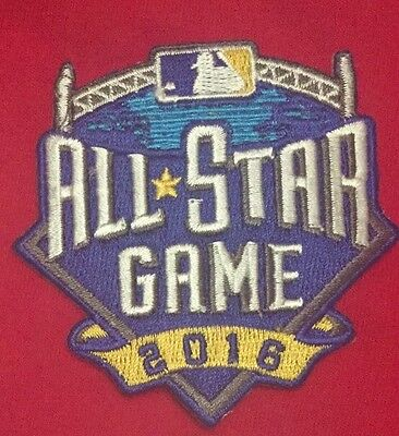 MLB All Star Game Jersey Logo Patch Petco Park 2016 Iron On Sew Shirt Jacket 3""