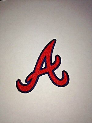 "Atlanta Braves SunTrust Park Classic A Jersey Patch 3"" Iron On Sew Shirt Hat"