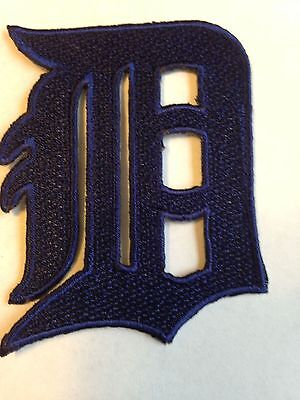 Detroit Tigers/Lions Jersey Patches Iron On Sew on Shirt Jacket Bag Hat Hoodie