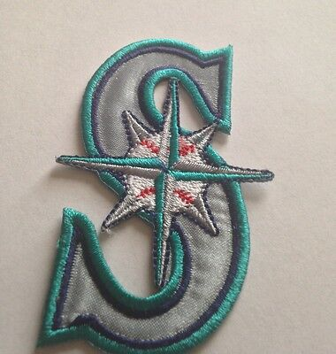 Seattle Mariners/Ken Griffey Jr. HOF Jersey Patches Iron On Sew on Shirt Jacket