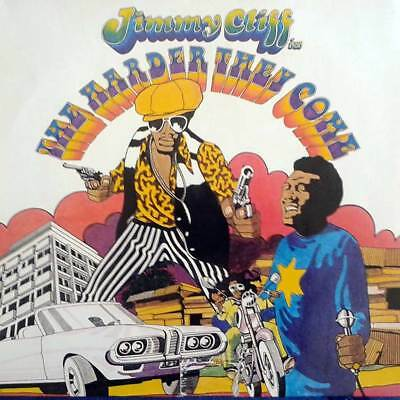 Soundtrack LP 110 - THE HARDER THEY COME - JIMMY CLIFF Island D 19?? (1972) EX(-