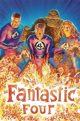 FANTASTIC FOUR #1 1:50 Alex Ross Variant (Marvel 2018) - 8/8/18