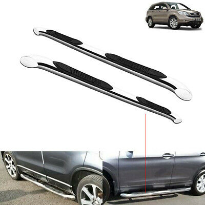 Honda CRV 2007-2012 Aluminium Side Running Boards Bar Steps OEM Protection -M246