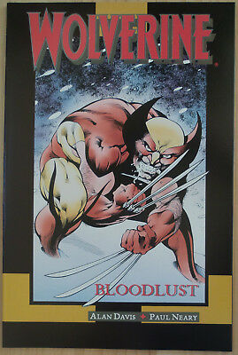 Marvel Graphic Novel #65, Wolverine: Bloodlust (Marvel, 1990)  NM