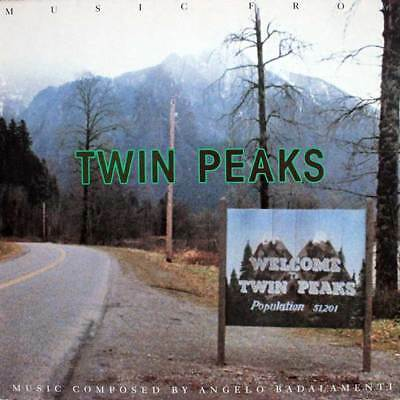 Soundtrack LP 129 - Music from TWIN PEAKS - ANGELO BADALAMENTI - D 1990 - EX(+)