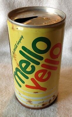 Vintage Steel MELLO YELLO Can!