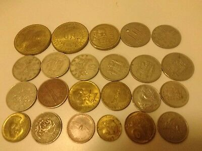Lot Of Vintage International coins