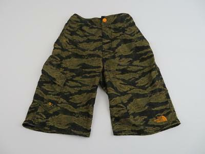 North Face Boys Green Camo Markhor Water Shorts Swim Trunks Youth Large(14/16)