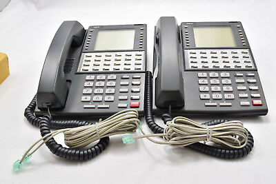 Lot of 2 NEC BDS DS1000 DS2000 34 Button Super Display DX7NA-24TSX , 80673