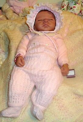 "Ashton Drake ""so Truly Real"" Lifelike Baby Doll, Emily, 56 Cm, Artist Linda Webb"