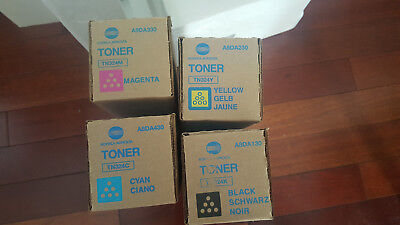 Genuine Bizhub Konica TN324 CMYK Toner Set for C368 C258 C308