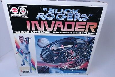 Buck Rogers Cox Hobbies 1980 Invader Launching Ship Sealed