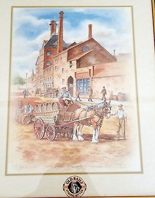 Old Bailey Strong Bitter Mansfield Brewery Ian R Ward Limited Advertising Print