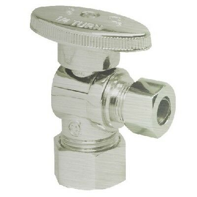 Mountain Plumbing  MT403-NL/BRN Brass Oval Handle 1/4 Turn Angle Ball Valve