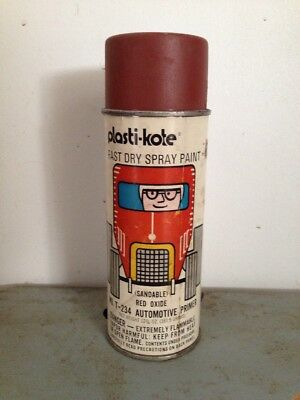 plastikote T-234 red oxide vintage spray paint