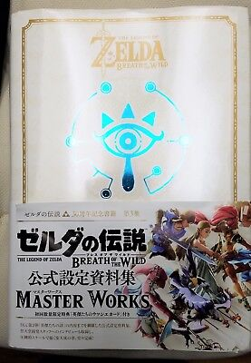 THE LEGEND OF ZELDA Breath of the Wild BotW (JAPANESE) Master Works Art Book