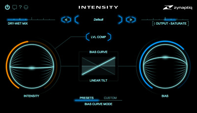 ZYNAPTIQ INTENSITY AUDIO Effects Plugin eDelivery JRR Shop