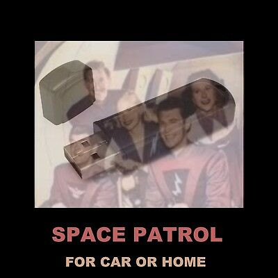 Space Patrol. 115 Old Time Radio Shows From Your Childhood. For Your Car Or Home