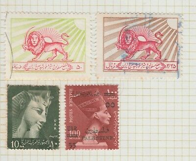 EGYPT Collection, Sphinx, Overprint,  etc  as per scan, FU USED #