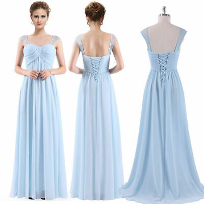 Women's Chiffon Bridesmaid Dress Long Evening Prom Party Dress 08863 Ever-Pretty