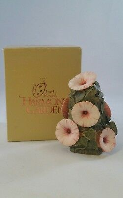 "NEW! Harmony Kingdom - Lord Byron's Garden England ""Morning Glory"" HGMG Retired!"