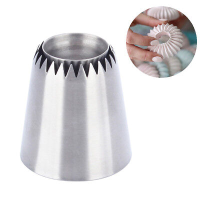 Stainless Steel Cake Cookies Pastry Nozzles Icing Piping Tips Dessert Decor Tool