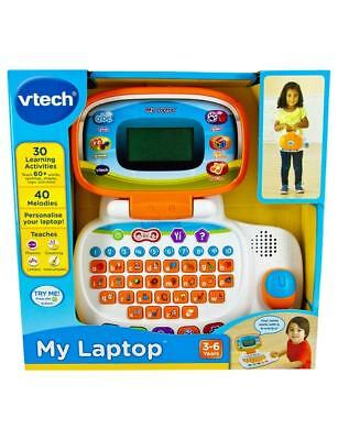 Vtech Kids My Laptop 30 Learning Activities 40 Melodies 3-6 Years New