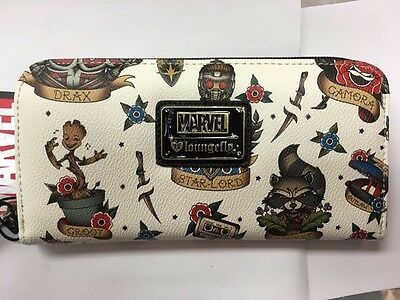 Loungefly Marvel Guardians Of The Galaxy Zip Wallet