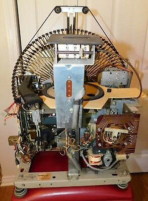 AMI / Rowe Jukebox Complete 1100 Mechanism Working When Pulled Nice Condition!