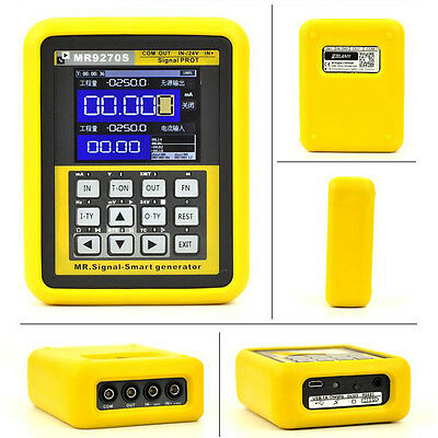 4-20mA LCD Digital Signal Generator Calibration Current Voltage Thermocouple USA