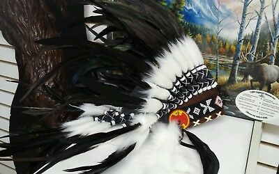 Native American Sioux Headdress replica South Dakota