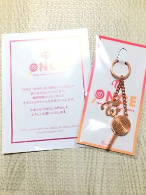 NEW TWICE ONCE Fan Club Limited Key Holder Candy Bong Type F/S