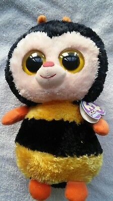 Ty Beanie Boos Buddies Sting the Bee With Hang Tag 2011