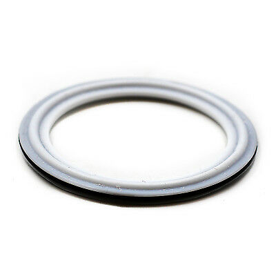 "HFS 1.5"" VITON with PTFE coved Gasket Fits Sanitary Tri Clamp Type Ferrule"