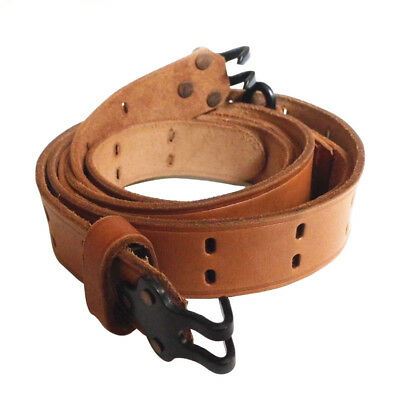 Ww2 Wwii Us M1 Garand Rifle M1907 M1903 Leather Carry Sling-F-00188