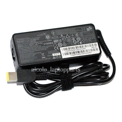 Power Adapter 65W 20V AC Charger for Lenovo ADLX45NDC3A 36200602 45N0289 45N0490