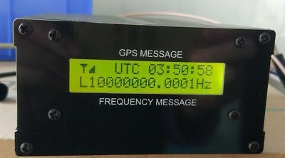 10M DISCIPLINED GPSDO GPS clock OSCILLATOR with LCD display yellow colour