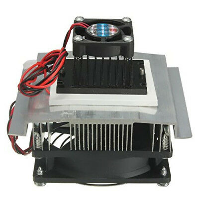 Portable Cooling System Kit Thermoelectric Peltier Refrigeration Cooler Fan TB1