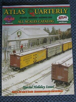 Atlas All Scales Catalogue. December 2008. 134 Pages.