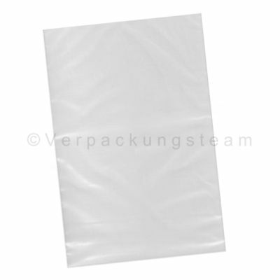 FLAT BAGS PLASTIC BAG Plastiksack 500 x 1000 mm 100my Strong Transparent
