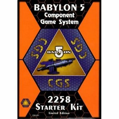 Babylon 5 - 2258 Starter Kit Centauri Republic - Limited Edition 1997 - Englisch