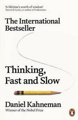 Thinking, Fast and Slow By Daniel Kahneman Paperback