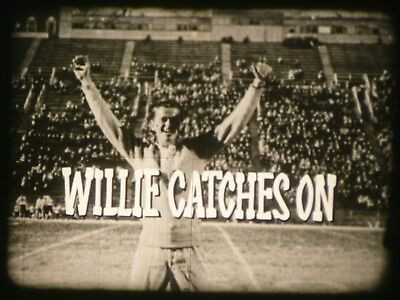 Willie Catches On 16mm short film from Canada 1962 B&W Documentary on racism