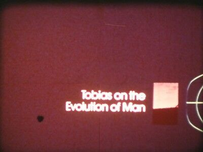Tobias On The Evolution Of Man 16mm film 1975 National Geographic Phillip Tobias