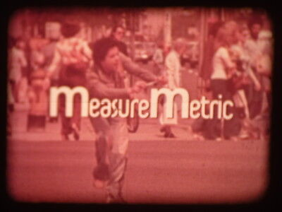 Measure Metric (Length 1 Who Measures?) 16mm short film 1976