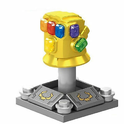 Thanos Infinity Gauntlet With Power Stones Gloves Building Avengers Blocks Toys