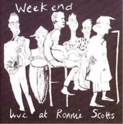 The Weekend-Live at Ronnie Scott's  (UK IMPORT)  CD NEW