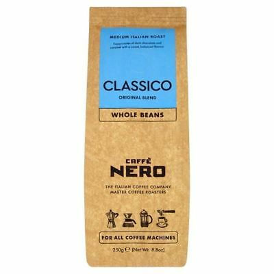 Caffe Nero Classico Whole Beans 250g (Pack of 2)